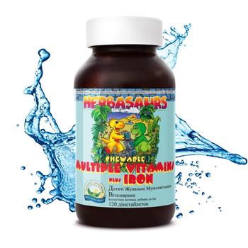 Витазаврики - Жевательные витамины для детей (Children's Chewable Vitamins) 120 капс.